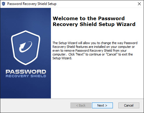 Password Recovery Install